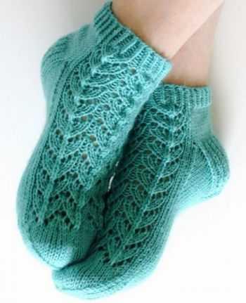 детские носки спицами схемы с описанием