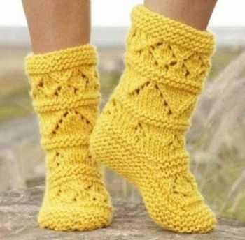 Носочки для детей спицами схема фото 521