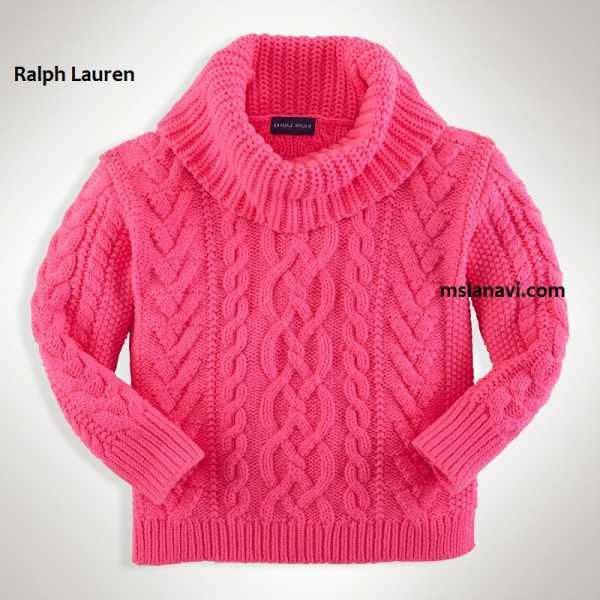 Как вязать спицами свитер детям