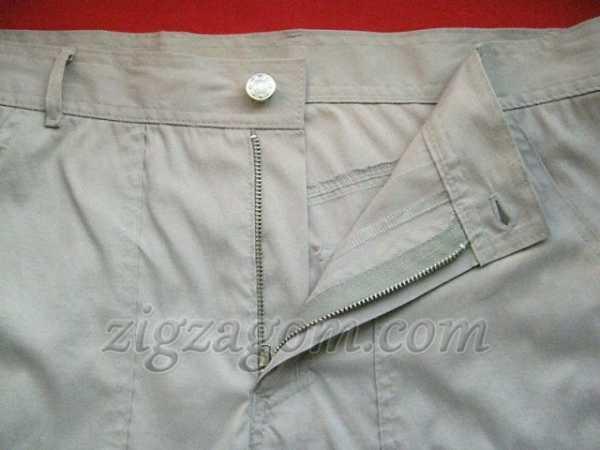 Как сделать петли для ремня на брюках