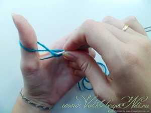 Урок 1. Начало вязания спицами. Набор петель. Mastercrochet 25