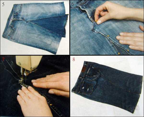 Как из брюк сшить кофту 60