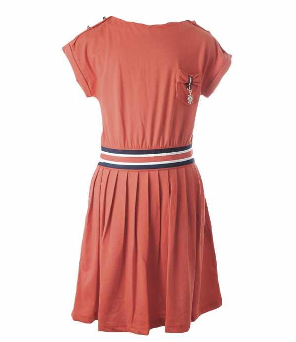 Как сшить платье с резинками на талии