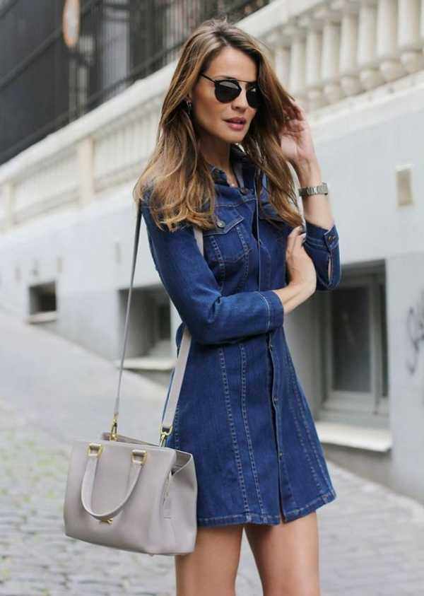 501163734b360cd Как сшить джинсовое платье своими руками