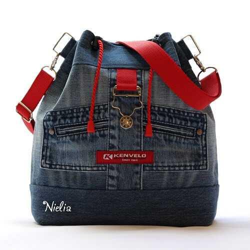 4ad3d1dadf29 Предлагаем вам замечательные идеи для летних сумок, и рюкзаков из старых  джинсов. Сумки из джинсовой ткани никогда не выходят из моды.