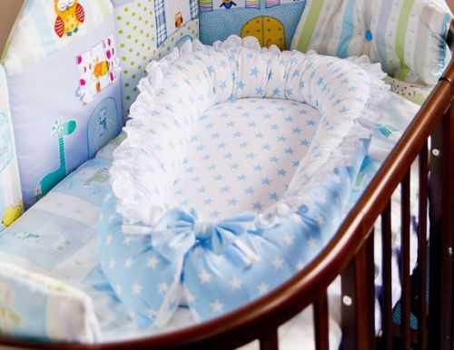 Шьем гнездышко для новорожденных своими руками 69