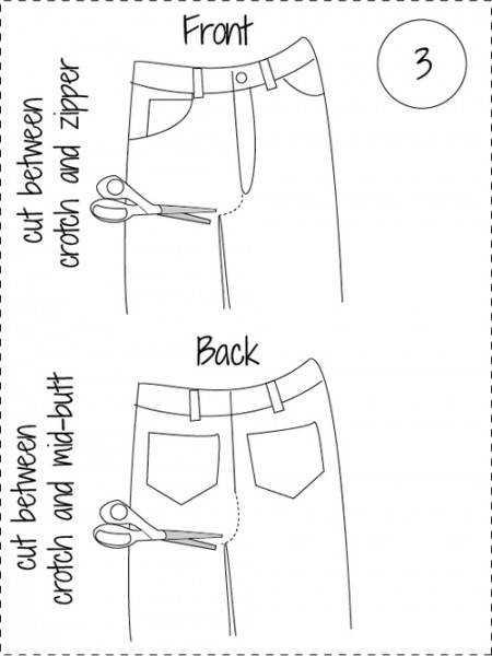 Можно ли из брюк сшить юбку карандаш 58