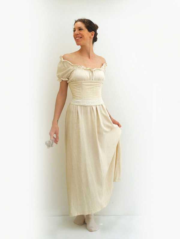 fcb1290ea36 Весьма удобно носить длинное льняное платье