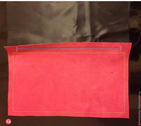 Сшить клатч конверт из кожи 384