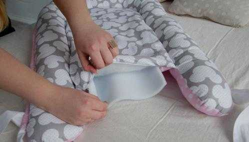 Шьем гнездышко для новорожденных своими руками 955