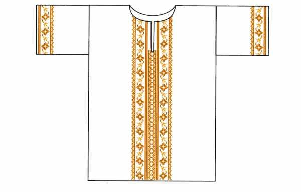 Крестильная рубашка для мальчика 1 год своими руками выкройки 10