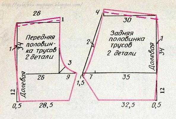 c572fc3122c18 Дан размер 52-54 (то есть обхват бёдер по наиболее выступающим точкам  ягодиц примерно 104-108см). Если нужен размер меньше: 48-50-й, то тогда  можно выкроить ...