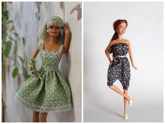 Красивая одежда для кукол своими руками 596