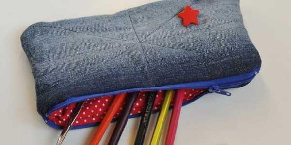 b6fca0290 Основной идеей, как сшить пенал своими руками, станет использование любой  плотной ткани (бязи, флиса, джинсовой). Выкройки можно соединить при помощи  иголки ...