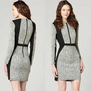 Простая выкройка : платье -футляр своими руками 6