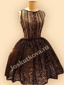 80dc3f595bf Как сшить платье из кружева своими руками