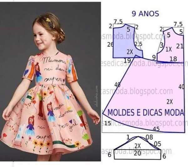 78d340c27b9dfc5 Как сшить детское платье своими руками для начинающих выкройки фото