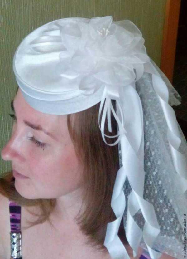 Свадебные шляпы своими руками 88