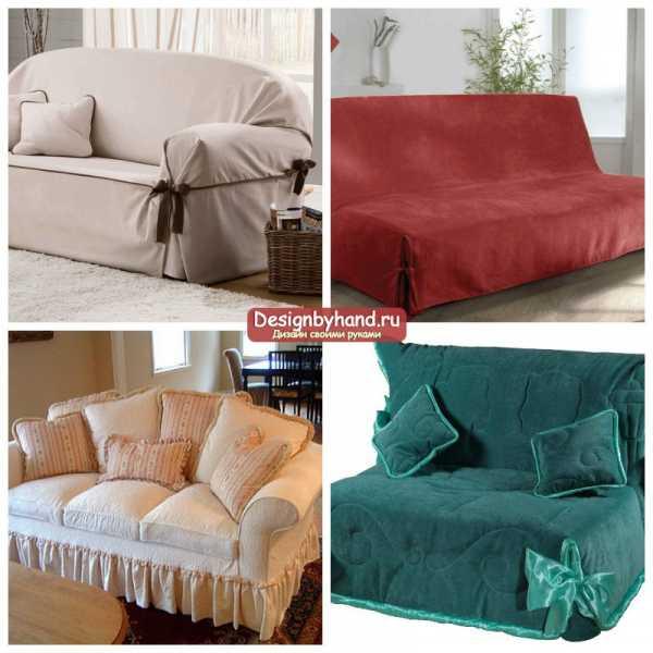 Как сделать накидку на диван без подлокотников 4