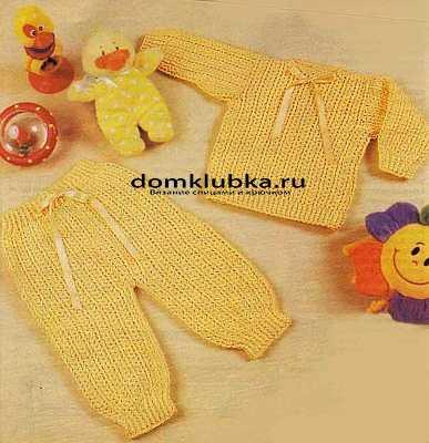как связать детские штанишки спицами для начинающих простой способ