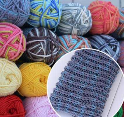 как связать шарф спицами для начинающих на 2 спицах