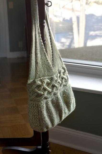 9911919a979e Как связать сумку спицами для начинающих