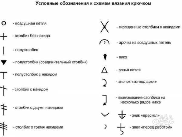 Обозначения для схем крючком