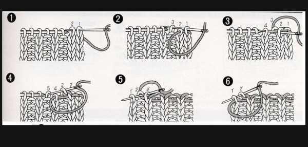 как закончить вязание спицами красиво