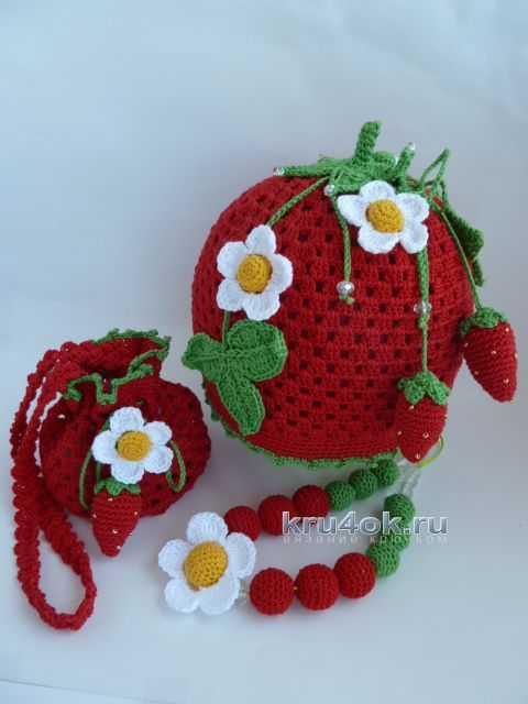 27f1ab9fec0f Вязаные крючком шапочки – работы Марины Стоякиной, Вязание для детей
