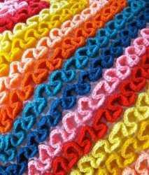 объемное вязание крючком по филейной сетке схемы