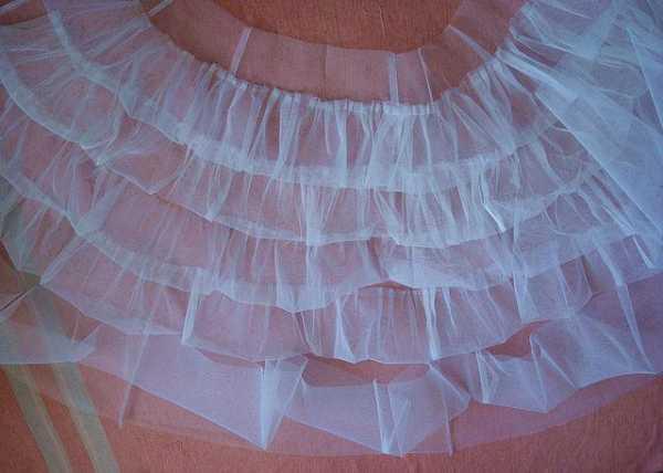 Как сшить подъюбник для бального платья стандарт 9
