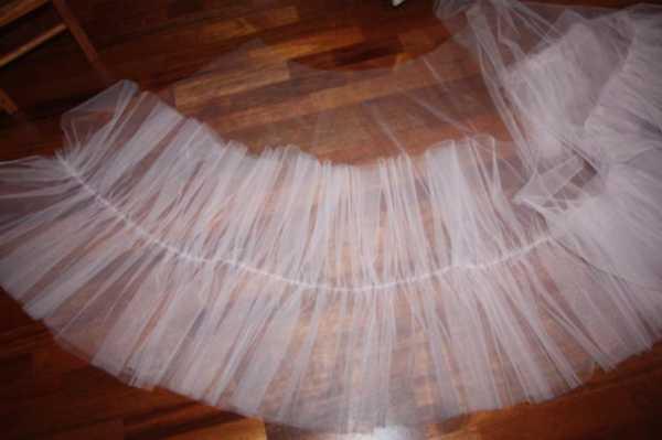 Как сшить подъюбник для бального платья стандарт 13