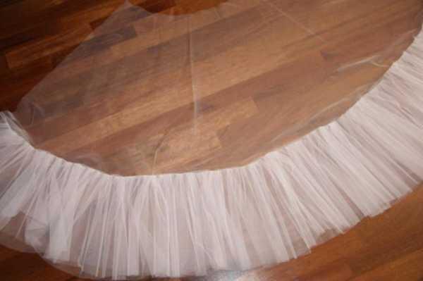 Как сшить подъюбник для бального платья стандарт 23