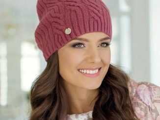вяжем зимние шапки спицами схемы