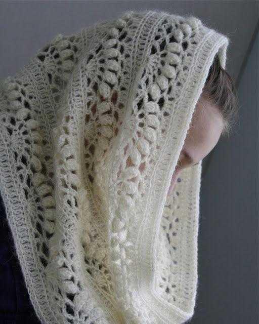 снуд крючком схемы вязания