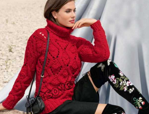 свитер связать спицами