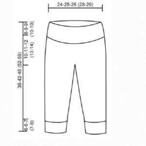 связать детские штанишки спицами