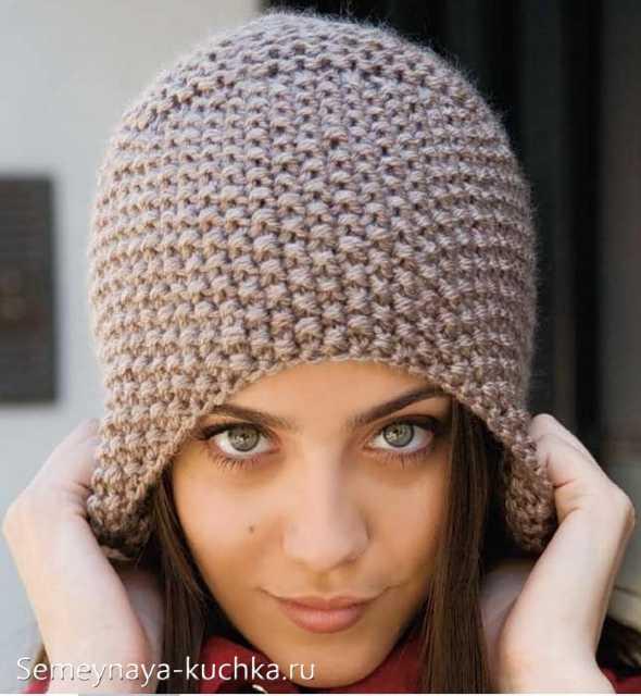 ad70704931fb И в такой же вязке с узором «рис» – хорошо бы связать уютный шарф-снуди  (хомут).