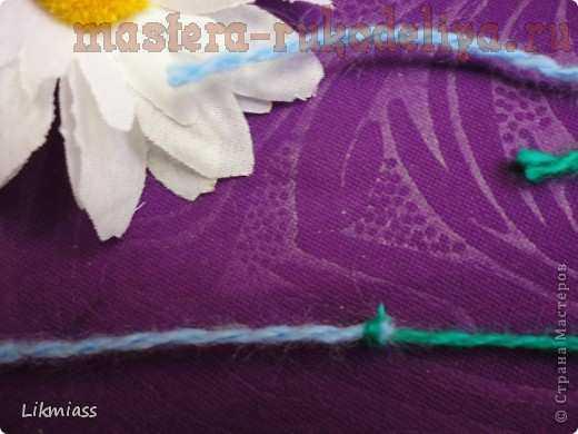 ткацкий узел при вязании