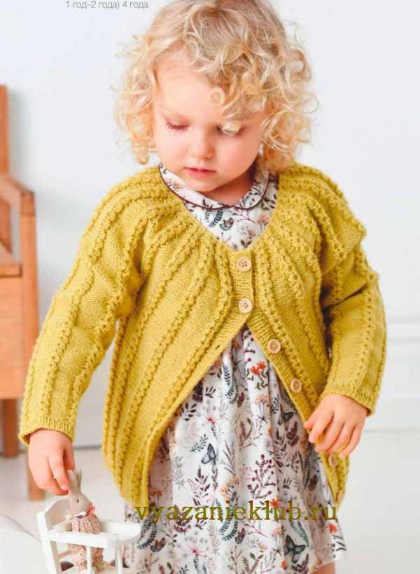 вязание для детей от 0 до 3 лет