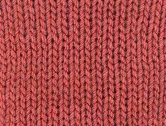 вязание двойной резинки спицами