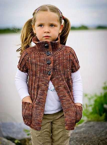вязание кофточек для девочек
