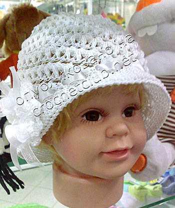 вязание крючком летних шляпок для женщин
