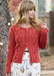 24eb28551c3 Вязание спицами для женщин кофта на пуговицах